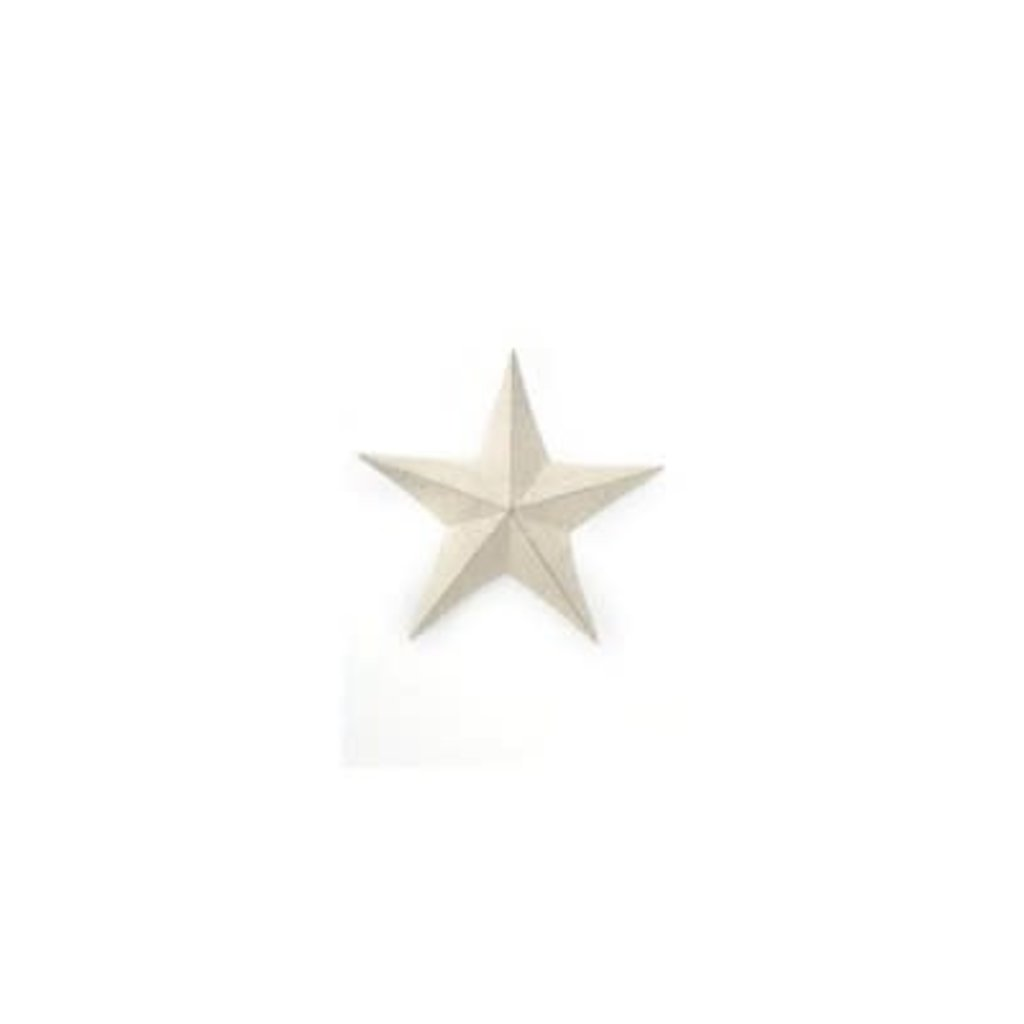 The Pine Centre Wall Decor - Ivory Star Large