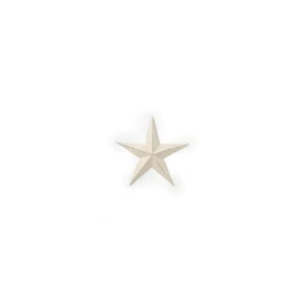 The Pine Centre Wall Decor - Ivory Star Small