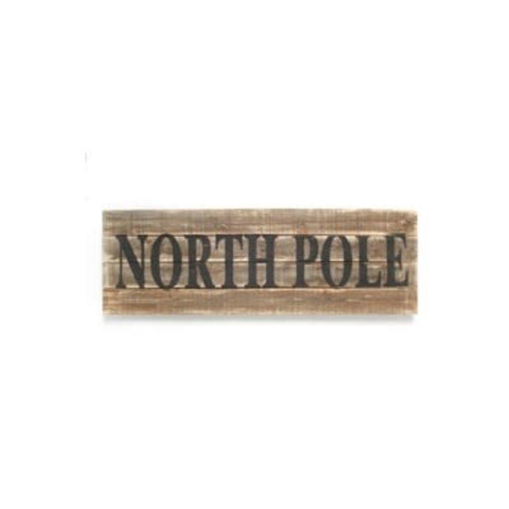 The Pine Centre Christmas Wall Decor - North Pole