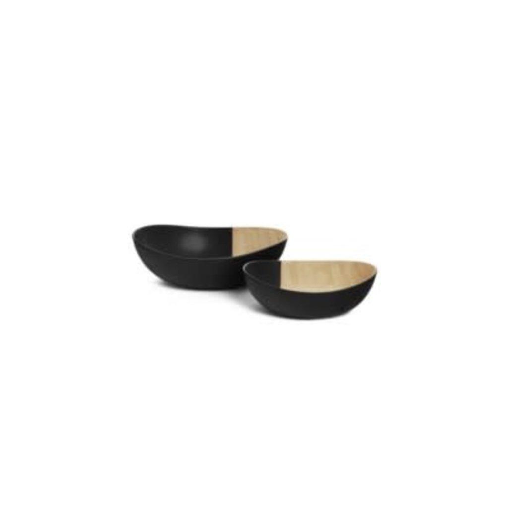 Bremer Lg Cera Bowl Sand-blk