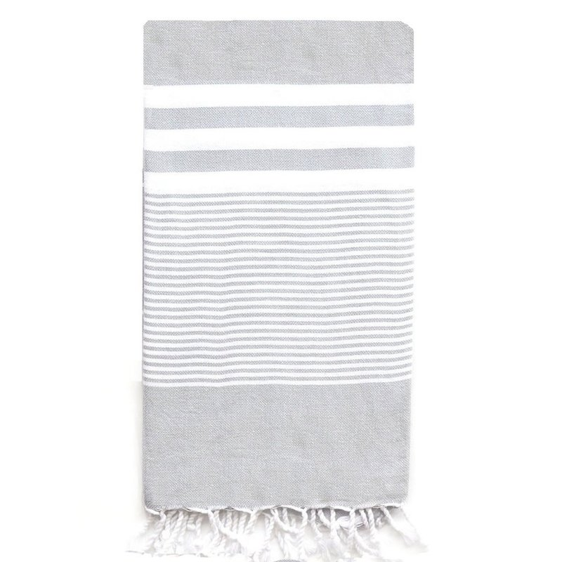 Turkish T Nina Towel: Gray