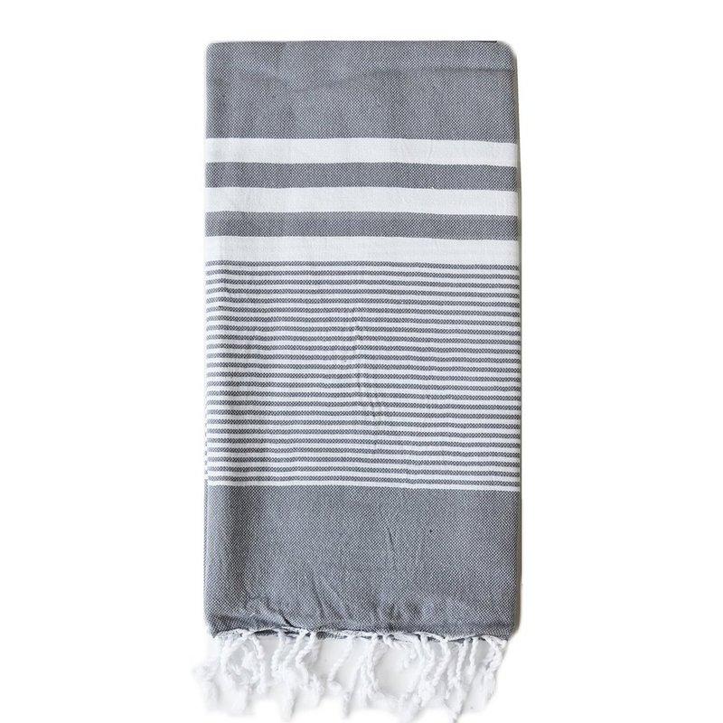 Turkish T Nina Towel: Slate