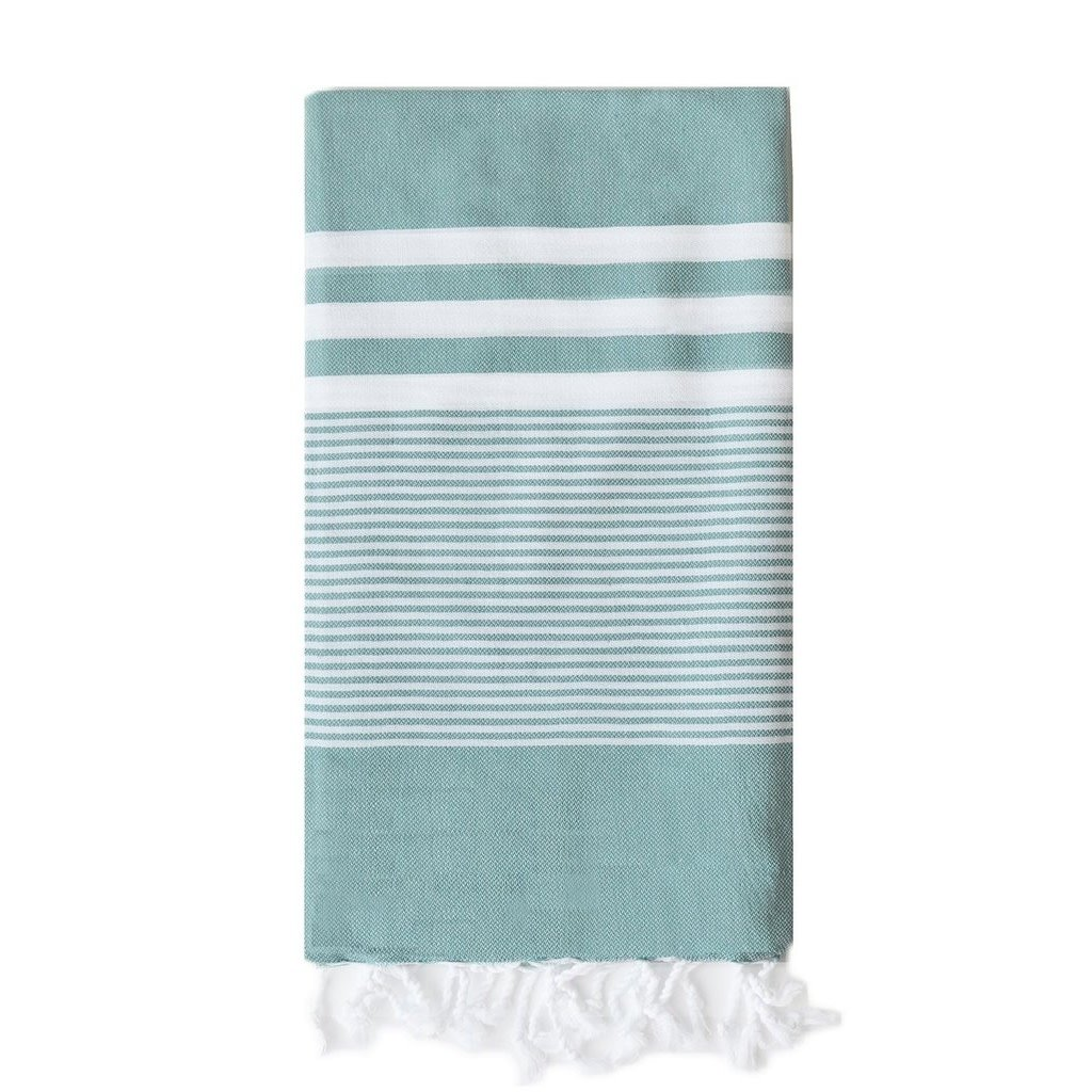Turkish T Nina Towel: Teal