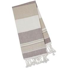Design Imports Natural Texture Fouta Kitchen Towel