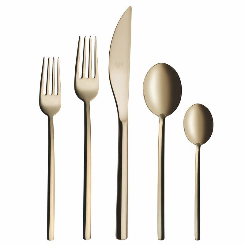 Mepra Cutlery Set 5 Pcs Champagne