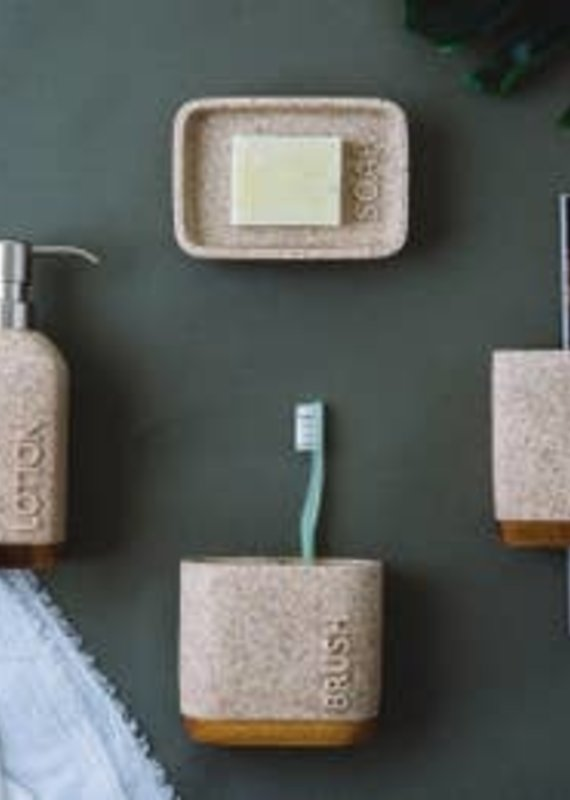 Mooi Space Vanity Sandstone Resin - Mercado Sand Collection