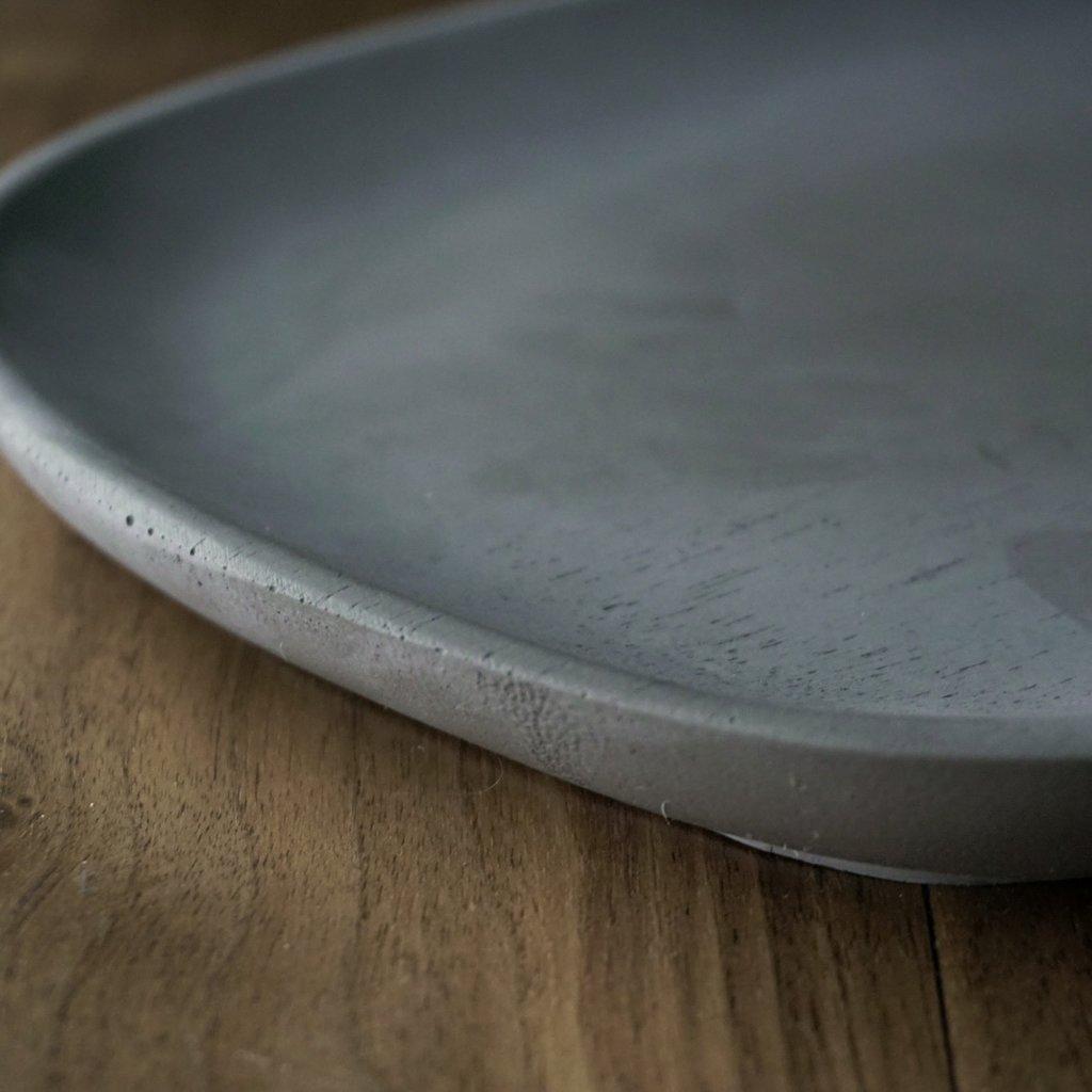 Large Organic Tray Charcoal