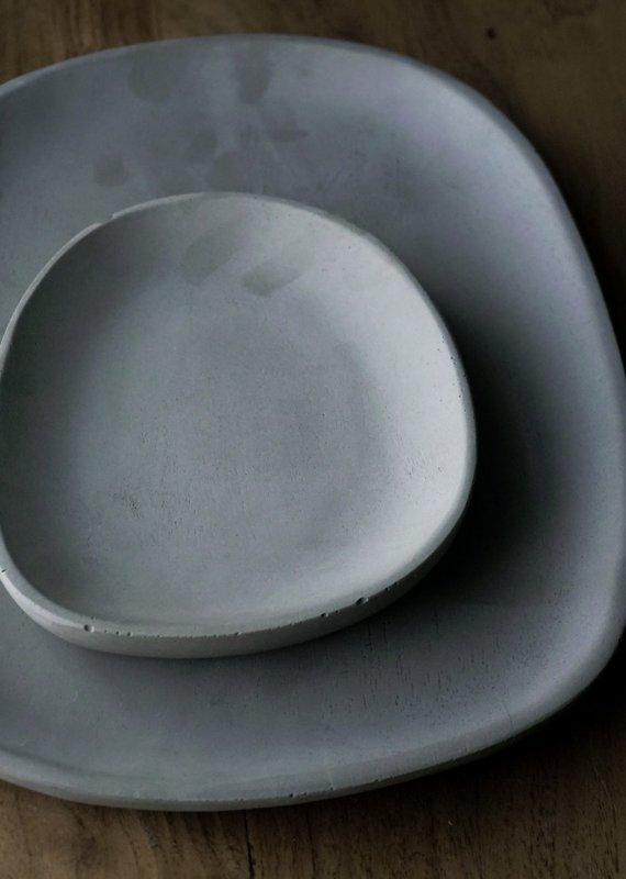 Small Organic Tray Charcoal