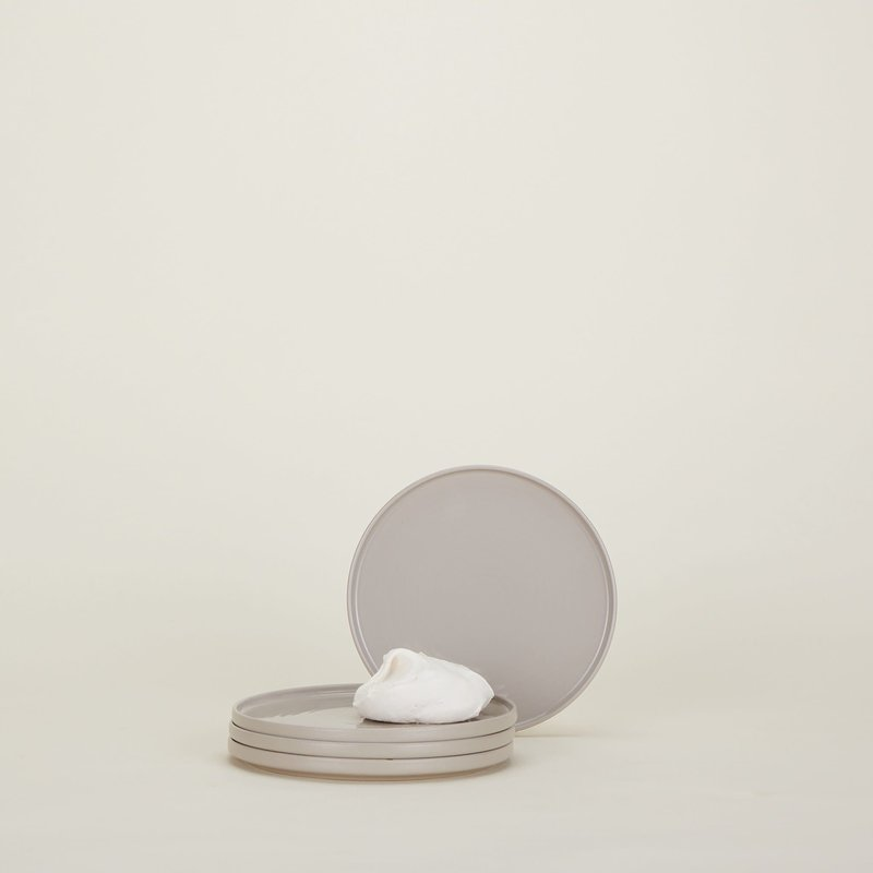 Hawkins New York Shaker Dinnerware - Salad Plate - Grey