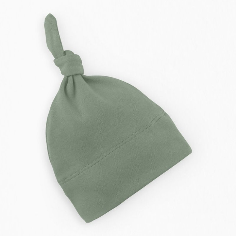 Colored Organics Classic Knotted Hat - Thyme NB