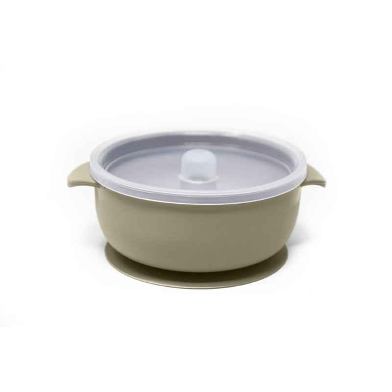 The Dearest Grey BABY BOWLS | SUCTION BOWL | MEADOW