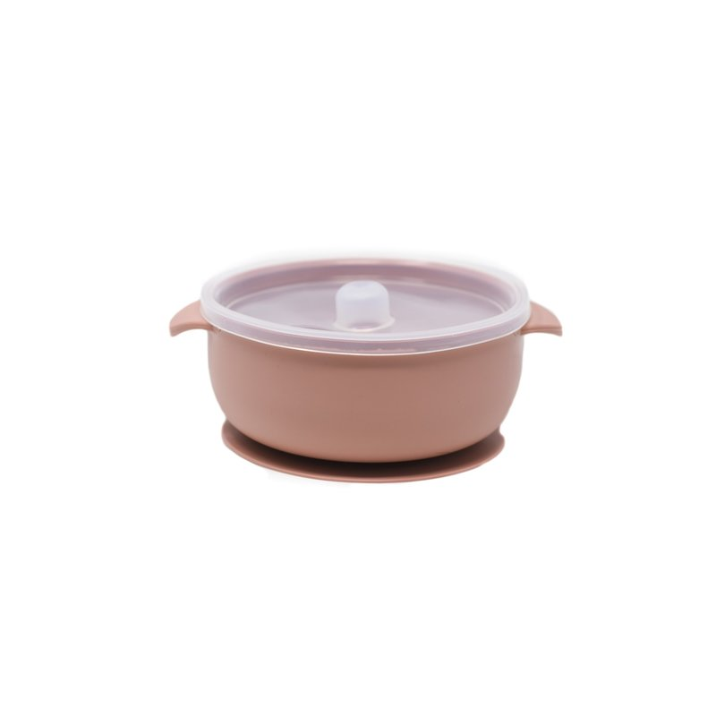 The Dearest Grey BABY BOWLS | SUCTION BOWL | RoseWood (LE)