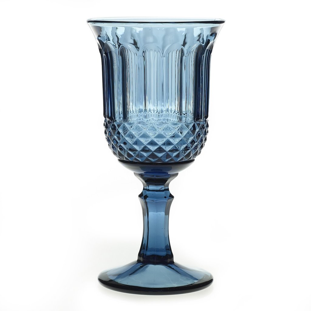 Rosalie Glass Dark Blue