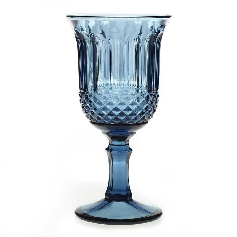 Rosalie Glass Dark Blue