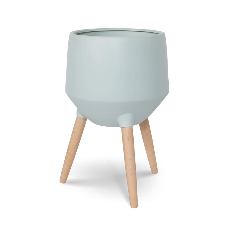 Style In Form Circa Base Planter - Neo Mint