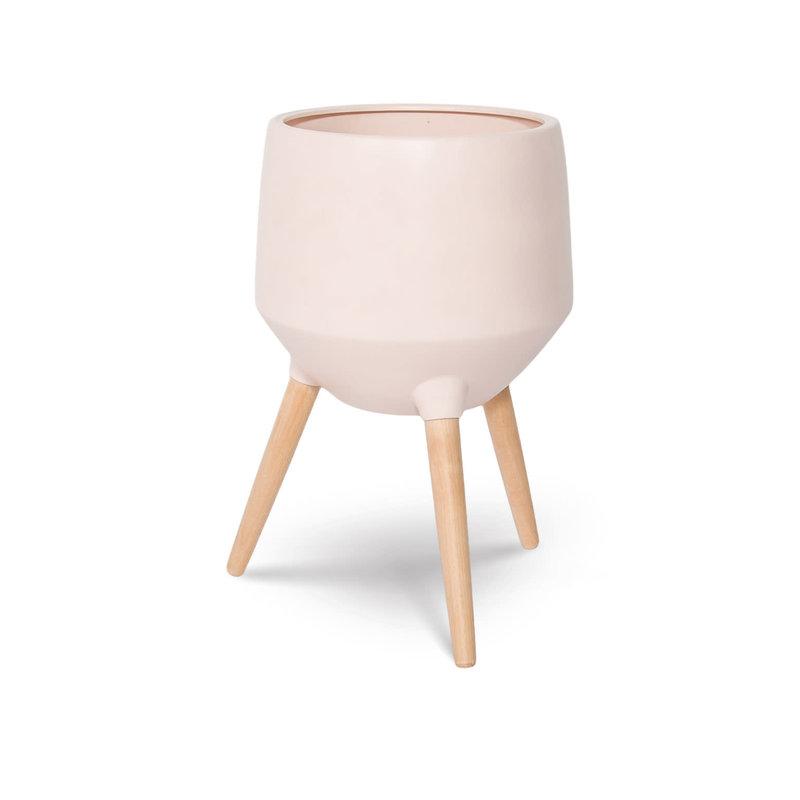 Style In Form Circa Base Planter - Paris Pink