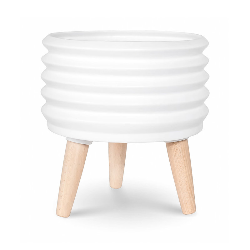Style In Form Circa Coil Planter - Short