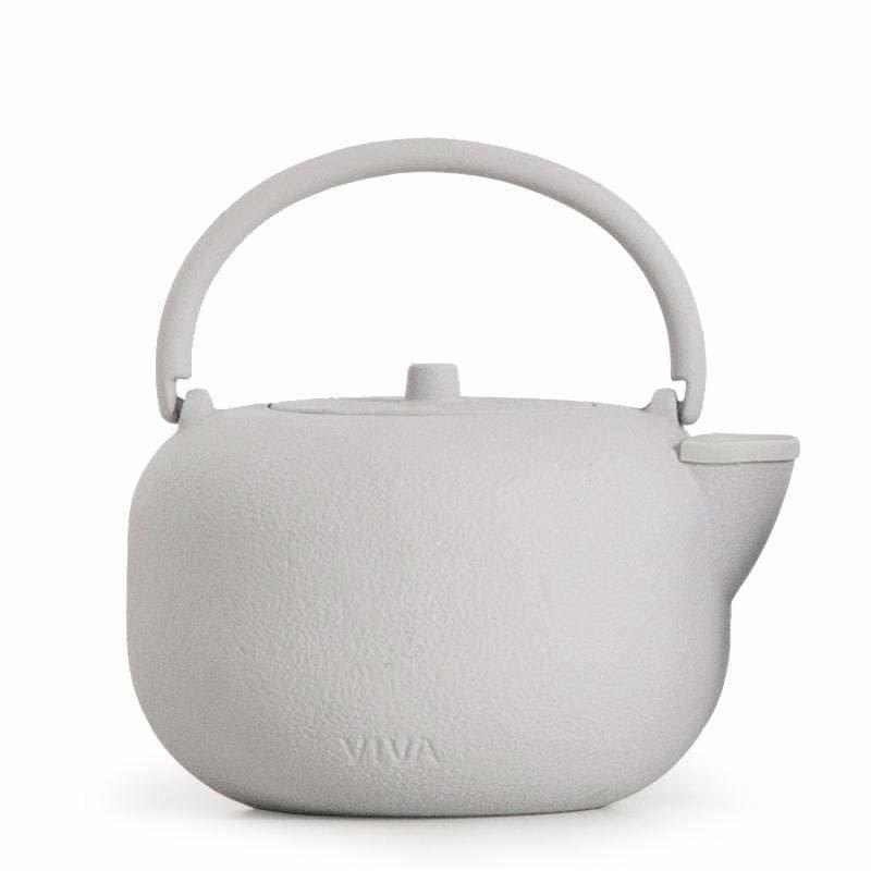 SAGA Cast Iron Teapot: Grey