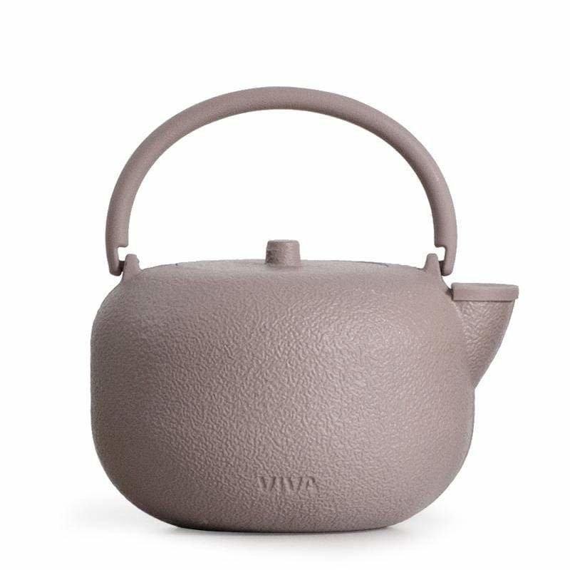 SAGA Cast Iron Teapot: Pink