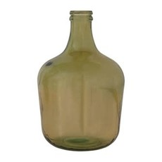 Creative Coop Recycled Glass Bottle - Green