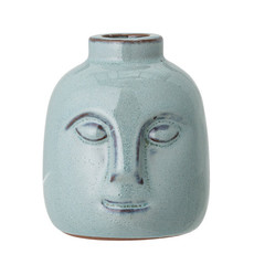 Bloomingville Stoneware Face Taper Holder