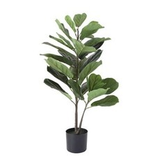 """Creative Coop 17.75"""" Faux Fiddle Fig in Pot"""