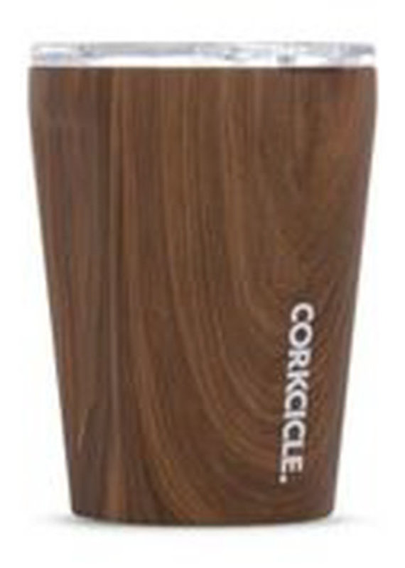Corkcicle TUMBLER - 12OZ WALNUT WOOD