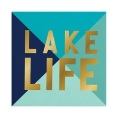 Santa Barbara Design Studio Napkin - Lake Life