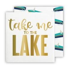 Santa Barbara Design Studio Napkin - Take me to the Lake