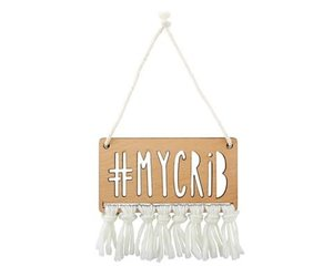#mycrib Wood Sign