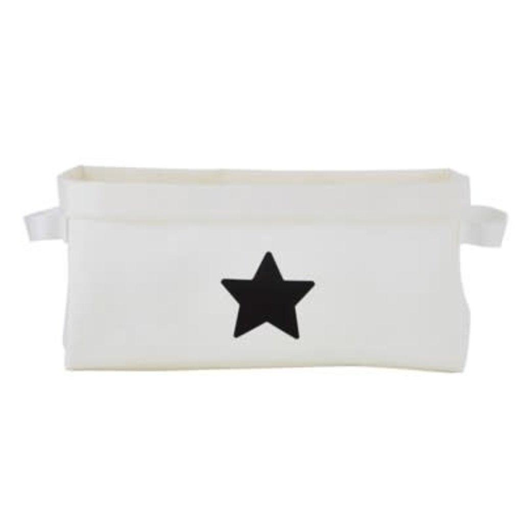 Santa Barbara Design Studio White Star Washable Storage
