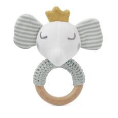 Elegant Baby RING RATTLE - ELEPHANT