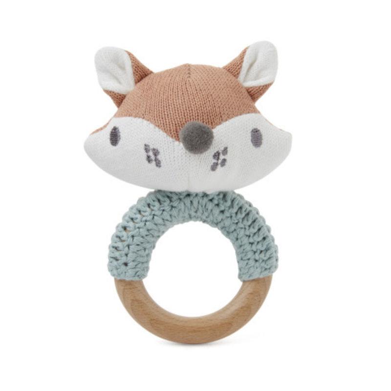 Elegant Baby FOX RING RATTLE
