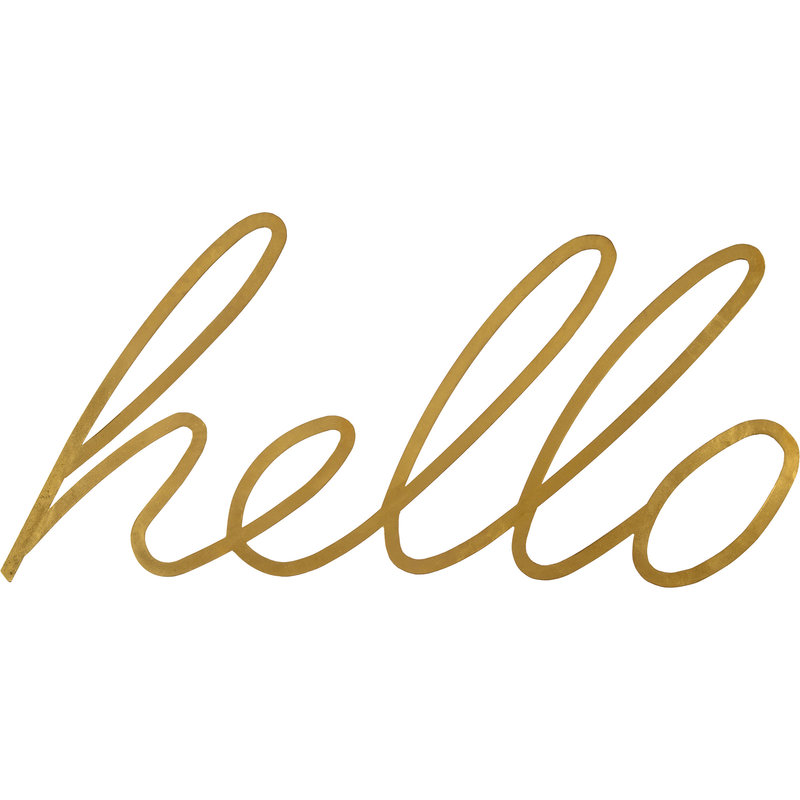 Renwil Hello Sign