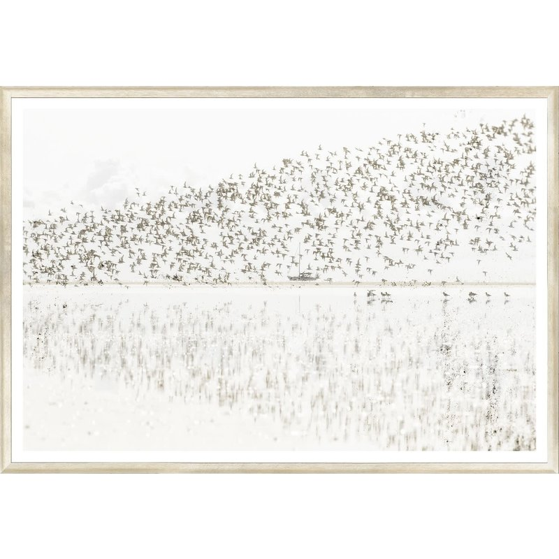 Celadon Taupe Aspect VII - Large