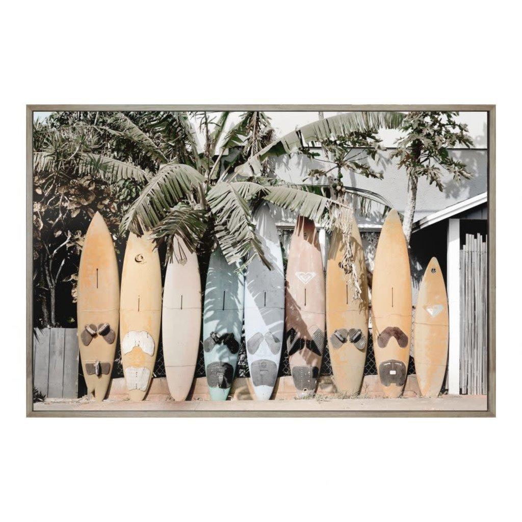 Moe's Home Surfs Up Wall Decor