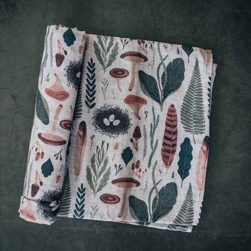 The Swaddle Company Woodnote Organic Swaddle