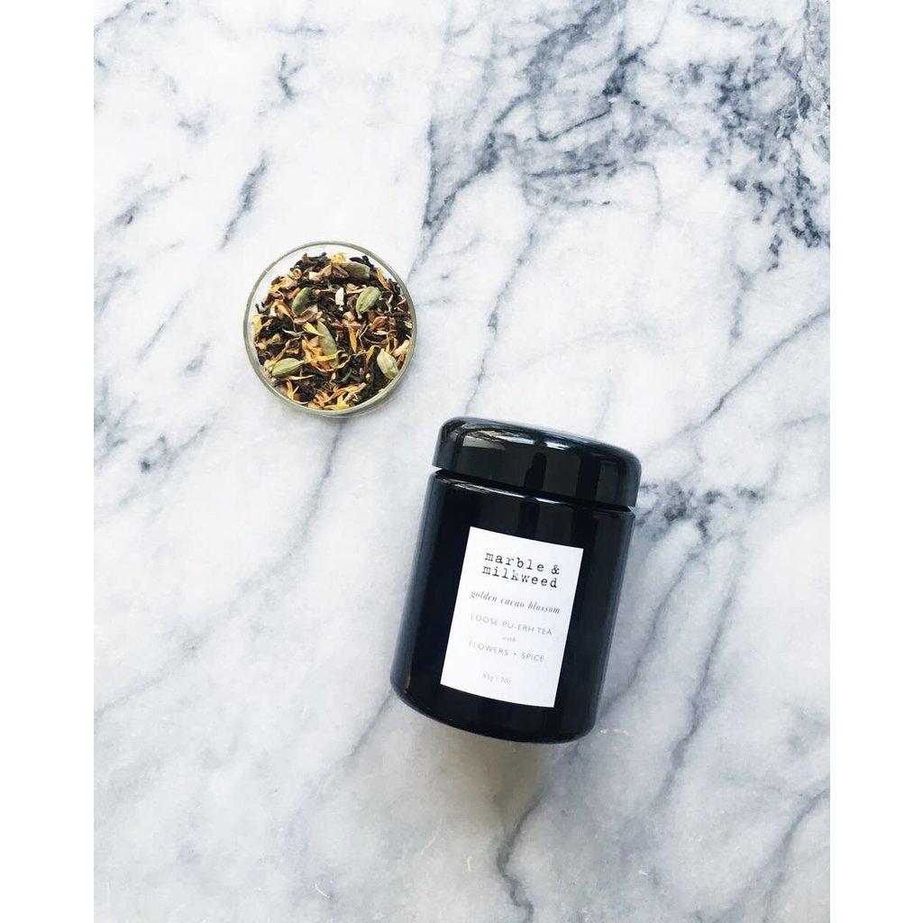 Golden Cacao Blossom Pu-erh Loose Tea