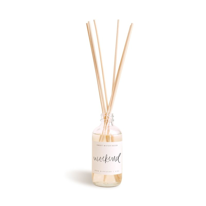 Sweet Water Decor Weekend Reed Diffuser