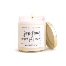 Sweet Water Decor Grapefruit and Mangosteen Soy Candle
