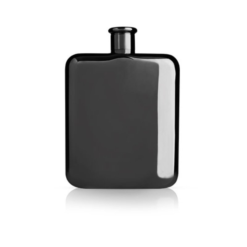 Viski Warren: Gunmetal Black Flask