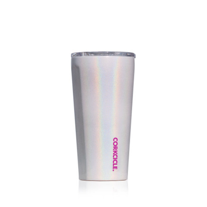 Corkcicle TUMBLER - 16OZ SPARKLE UNICORN MAGIC