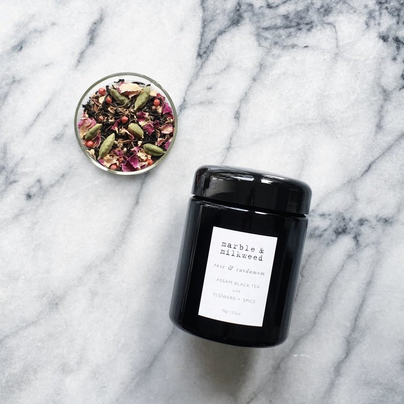 Rose & Cardamom Assam Black Tea