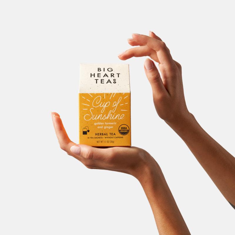 Big Heart Tea Co. Cup of Sunshine Tea Bags
