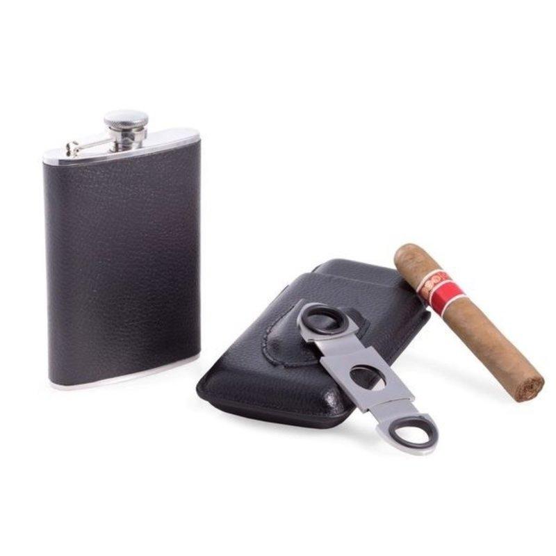 BeyBerk Cigar and Flask Accessory