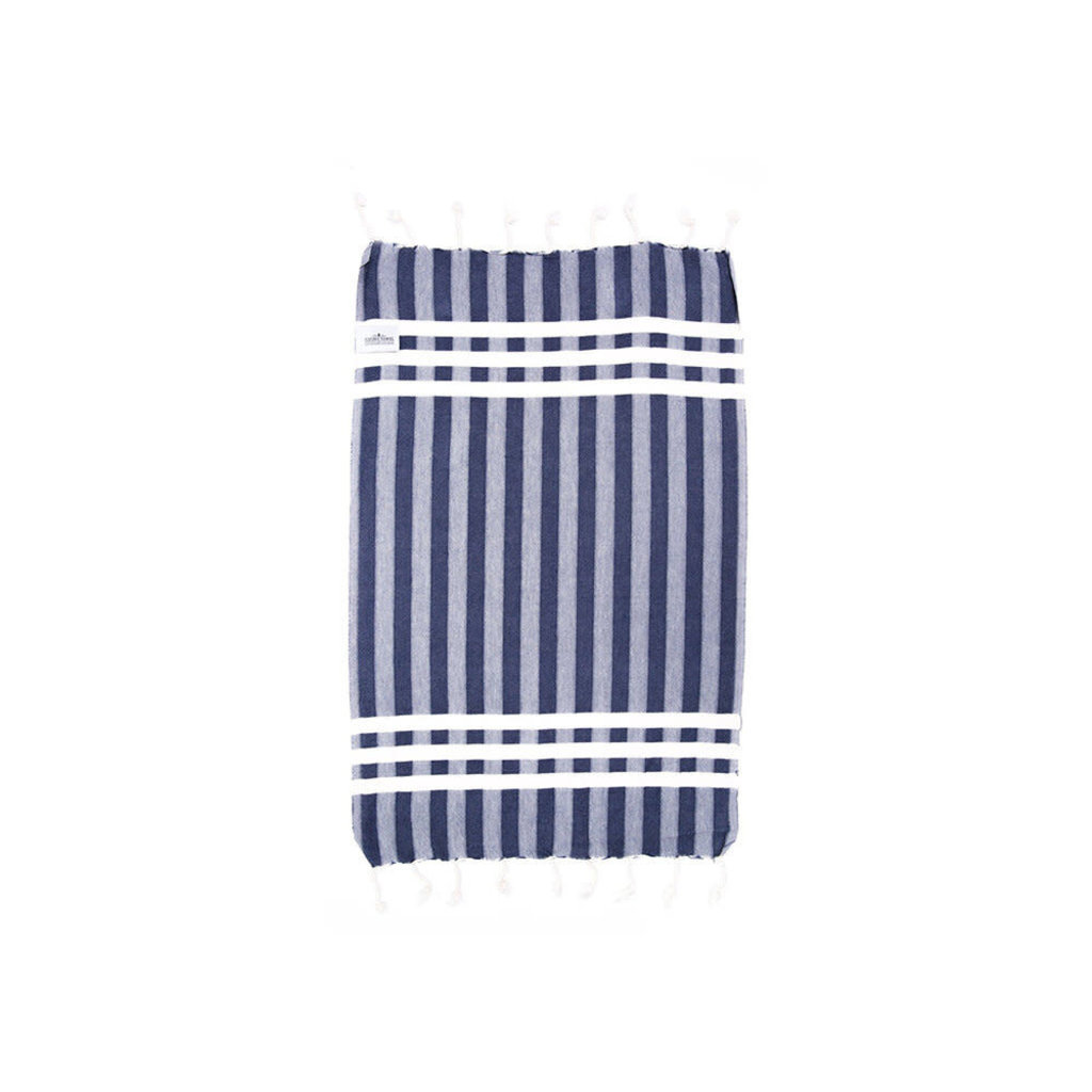 The Galley Towel - Navy (2PK)