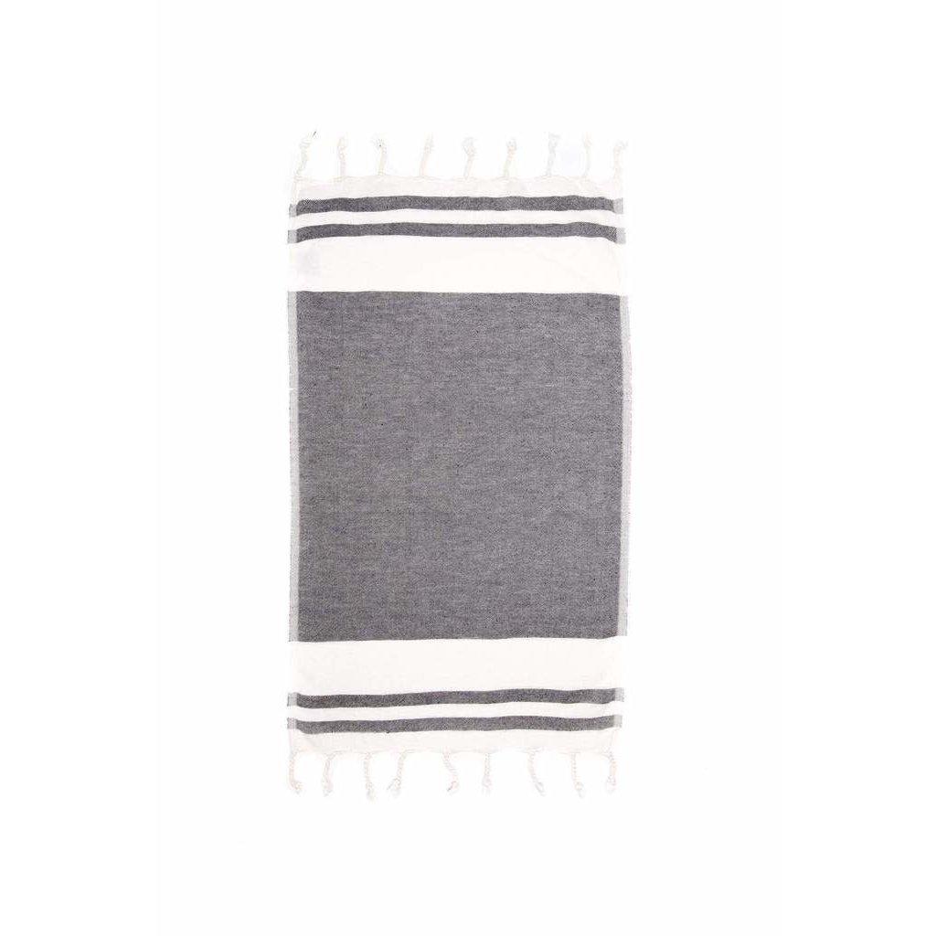 The Hatch Kitchen Towel Black