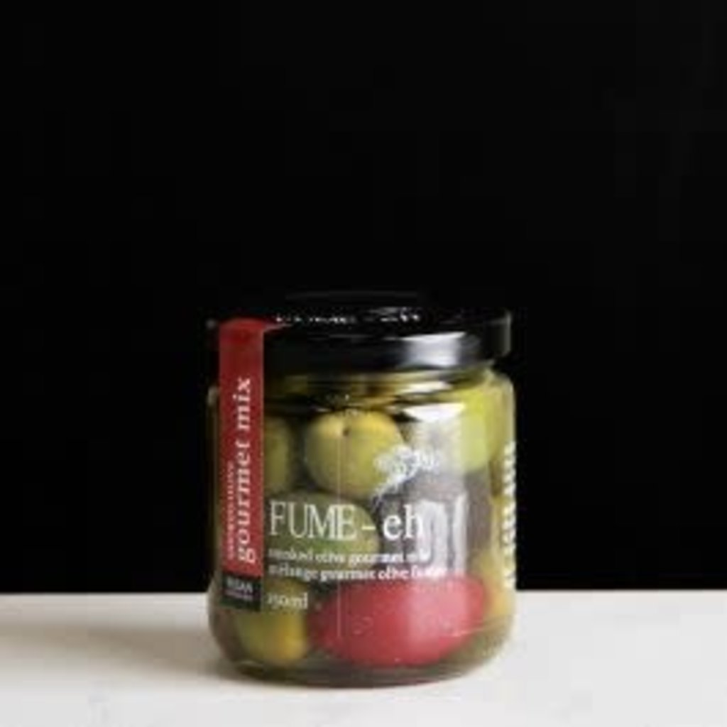 Smoked Gourmet Olive Mix