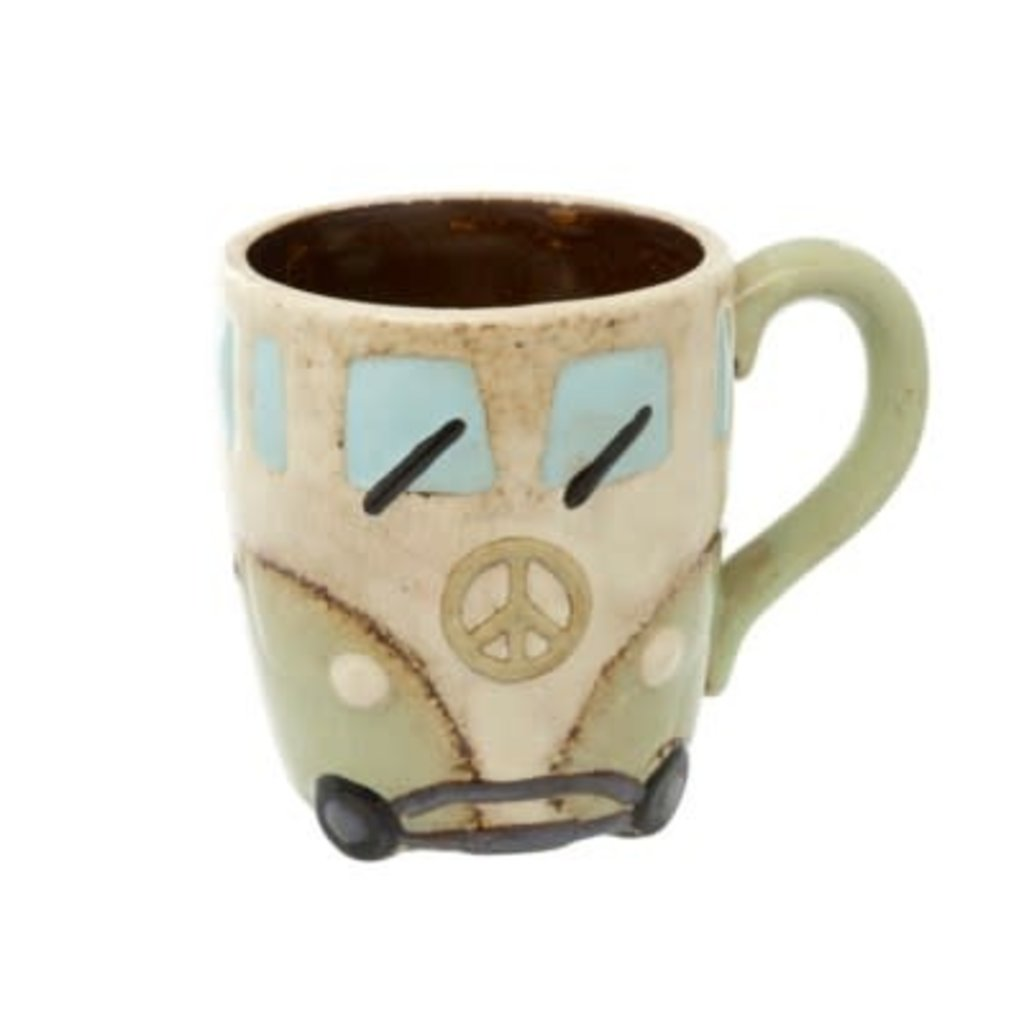 Indaba Peace Van Mug, Mint