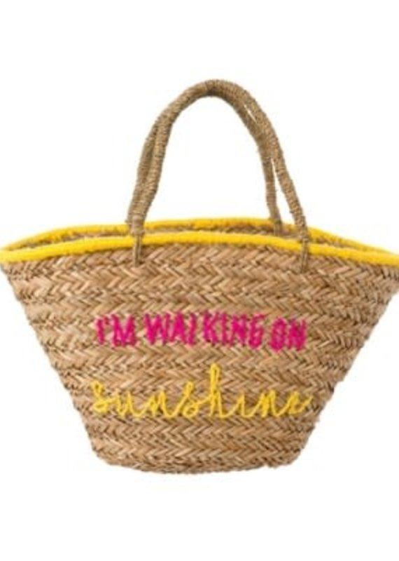 Indaba Walking on Sunshine Beach Bag